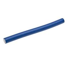 Гибкие бигуди-бумеранги синие 18см х 15мм