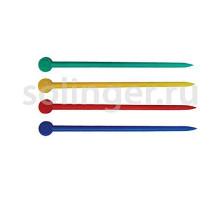 Палочки Sibel для бигуди 20 шт/уп 77 мм пластик цветные