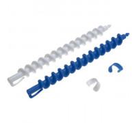 Бигуди 7 мм спиральные, в комплекте с зажимами