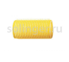 Бигуди-лип.(10) Sibel 32 мм, желтые 12 шт/уп