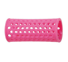 Бигуди Sibel пласт. 28 мм розовый 10 шт/уп