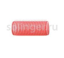 Бигуди-лип.(10) Sibel 24 мм красный 12 шт/уп