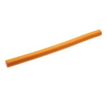 Гибкие бигуди-бумеранги 25см х 17мм оранжевые