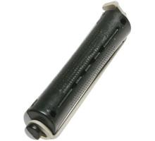 Коклюшки 16 мм длинные черно-серые, 12 штук в упаковке