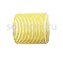 Бигуди-лип.(10) Sibel 66мм желтые 6 шт/уп