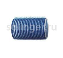 Бигуди-лип.(10) Sibel 40 мм синие 6 шт/уп