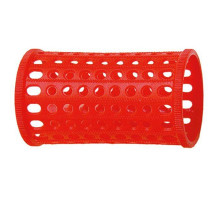 Бигуди Sibel пласт. 40 мм красный 10 шт/уп