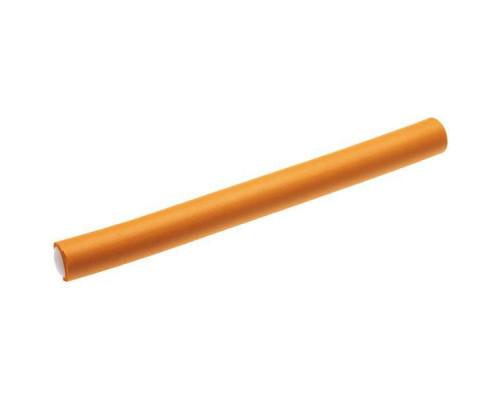 Гибкие бигуди-бумеранги оранжевые 18см х 20мм