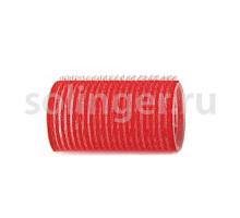 Бигуди-лип.(10) Sibel 36мм красный 12 шт/уп