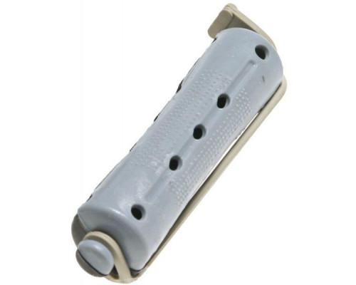 Коклюшки 15 мм короткие серо-черные, 12 штук в упаковке
