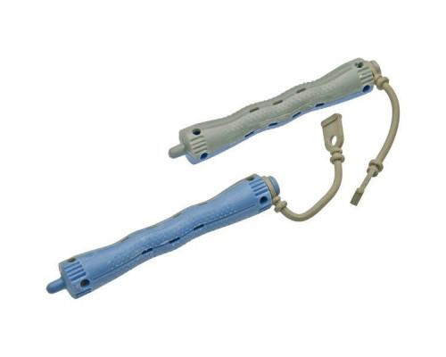 Коклюшки пластиковые серо-голубые (12 штук)