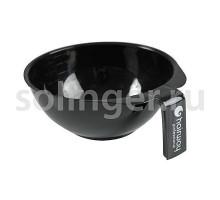 Чаша Hairway для краски с ручкой 130 мм черная