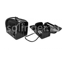 Чемодан Hairway для визажиста черный 300х200х260мм