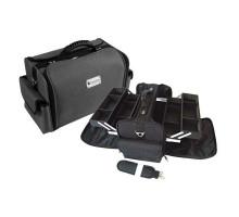 Чемодан Hairway для визажиста ткан.черный 360х220х240 мм