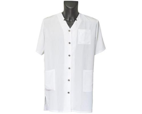 Халат для косметолога белый, 5960125 L