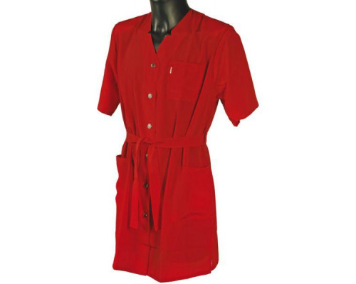 Халат для косметолога красный, 5960525 S