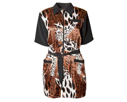 "Халат для парикмахера ""Leopard"", 5962080 XXL"