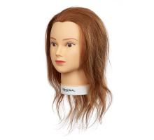 Голова учебная ISALINE натур.волосы 40 см