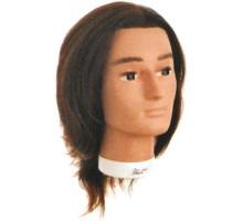 Голова учебная BOBBY со 100% естественными волосами 20/25см