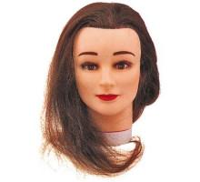 Тренировочный макет STUDENT с натуральными волосами 35/40см