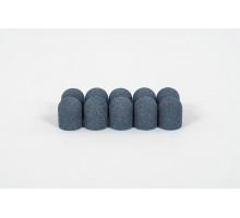 Одноразовые колпачки Medcaps 13 мм грубая зернистость (набор 10 шт.)