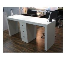 Double Маникюрный стол, 1800 мм