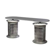 Маникюрный стол Grande gray plus