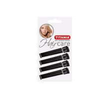 Невидимки Titania черные прямые 30 шт/уп. 5см 8060/А