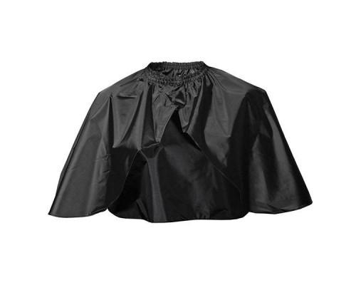 Укороченная накидка черная 73х115см