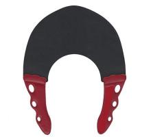 Воротник для стрижки и окрашивания 0.3мм, черный с красным