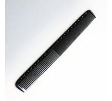 Расческа для стрижки с линейкой 21,5 см черный