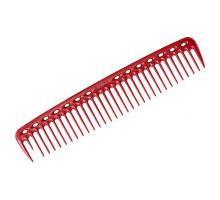 Расческа для стрижки редкозубая длинная красная