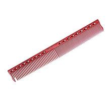 Расческа для стрижки с линейкой 22 см красная