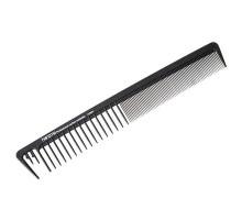 Расческа для стрижки и укладки (карбон) 20,5см