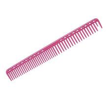 Расческа для стрижки редкозубая длинная розовая