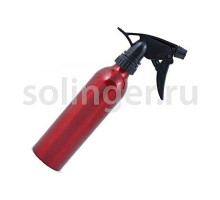 Распылитель Hairway Tubus воды красный метал.250мл.