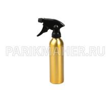 Распылитель Hairway Tubus для воды золотой метал.250мл.