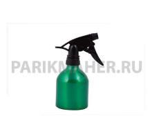Распылитель Hairway Barrel для воды зеленый метал.250мл.