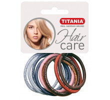 Резинки Titania для волос 4,5см 7818 10 шт/упак