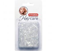 Резинки силиконовые для причесок 150шт/уп белые