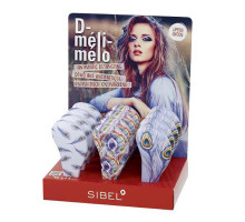 Дисплей с щетками Meli Melo (перышки) 18 шт.
