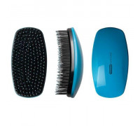 Щетка массажная Detangling Brush голубая