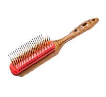 Щетка для волос Pro Wood Styler, 9 рядов