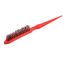 Щётка для начёса красная