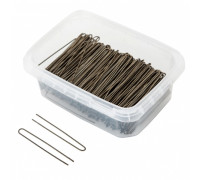 Шпильки для волос 65мм бронзовые прямые