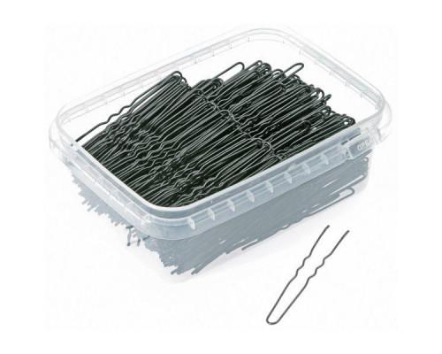 Шпильки для волос 65мм чёрные 500г