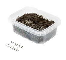 Шпильки для волос бронзовые гладкие 45мм 500гр.