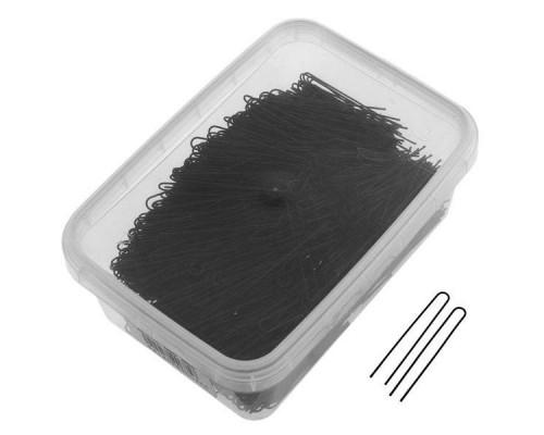 Шпильки прямые чёрные 45мм (500грамм в упаковке)