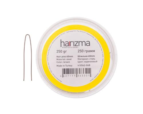 Шпильки 60 мм прямые коричневые 250 грамм