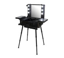 Мобильная студия визажиста VZ-210, черный